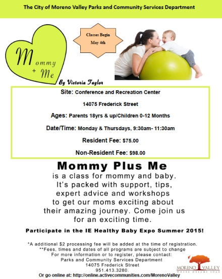 Mommy+Me Spring 2015